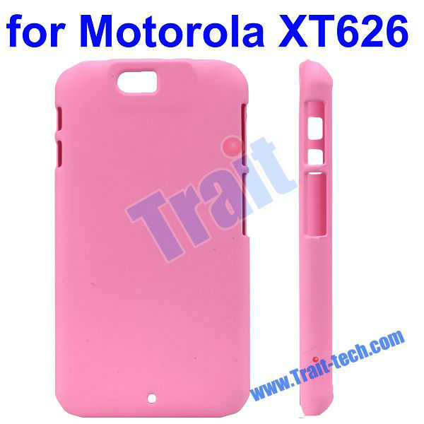 Pure Color Hard Plastic Case for Motorola XT626 Double V