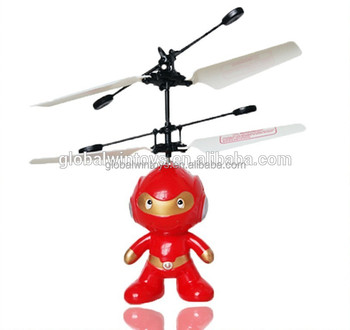 HY830 Best toy for gifts 2.4G rc flying spaceman, rc flying robot, induction toys, USB charging