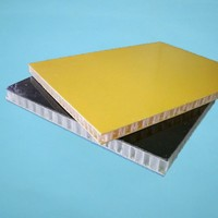Composite FRP exterior wall panels for engineering plastic