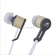 Wired stereo Earphone , with ABS housing,10mm speaker,OEM Factory in Shenzhen For iPhone
