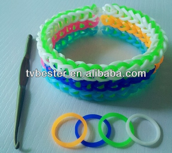 silicone DIY bracelet fun loom diy