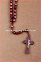 religious rosary crucifix cross statue keychain pendant wooden beads souvenir custom metal beer opener key chain