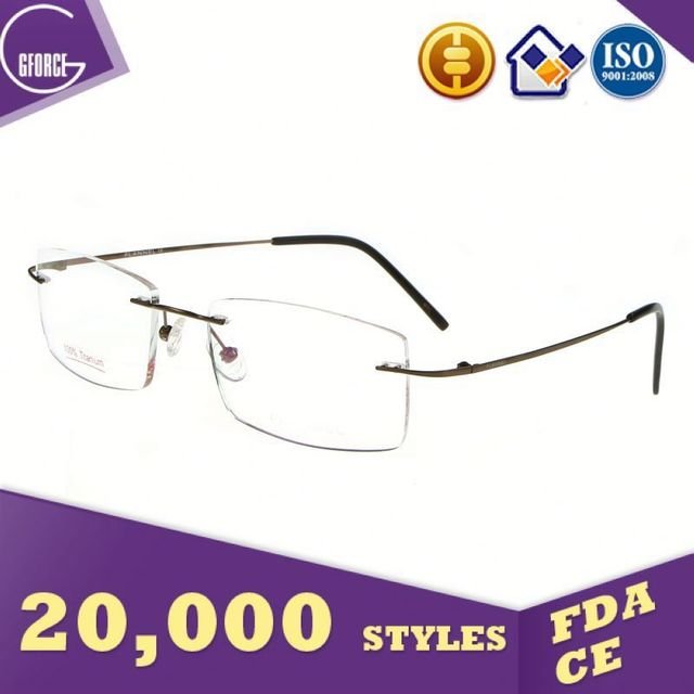 Eyeglasses Without Nose Pads, best spectacle frames, made by titanium