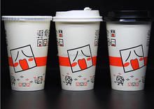 8oz 10oz 12oz 16oz 20oz wholesale custom logo printed disposable hot paper Beverage coffee Foam Cups with Lid