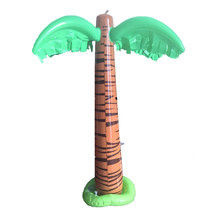 pvc inflatable palm tree pool float