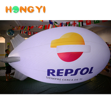 Night Sky LED Trademark Advertising Exhibition Inflatable PVC Blimp