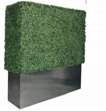 Artificial boxwood hedge fence
