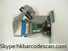 Barcode printer Zebra 105sl built-in network card