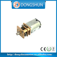 DS-12SSN20 battery operated 6v 12v dc cw/ccw micro gear motor