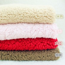 sherpa fleece soft lamb fleece knitting fabric
