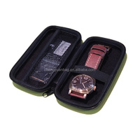 Nice PU Leather Zipped Watch Case Watch Packing Bag for Casio
