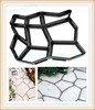 Recycled Rubber Pathway Patio Pavers/ tile DIY Moulds for garden