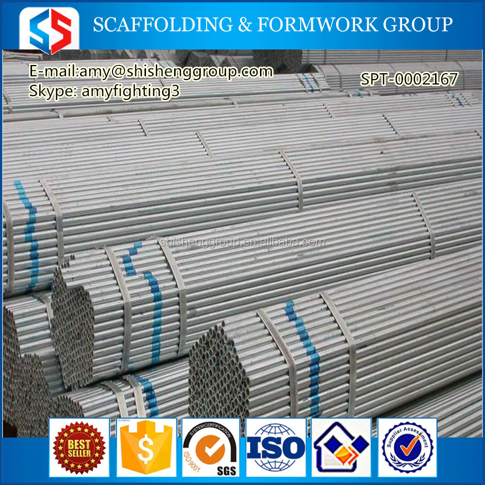 Tianjin SS Group Supply pipe/Q345B.S235 S275 playground facilities steel pipe/ galvanized pipe