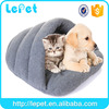 For amazon and ebay store Custom logo soft warm pp Cotton cozy cave house for cats