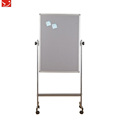 YDB-013 Mobile Flip chart portable double sided magnetic whiteboard price with stand.