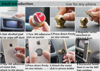 New and fashion cheap price magnetic cell mobile phone car holder with strong magnetic car mobile phone