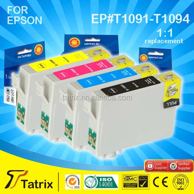Hight Quality Ink Cartridge T1091 T1092 T1093 T1094 Use For Epson Inkjet Printer