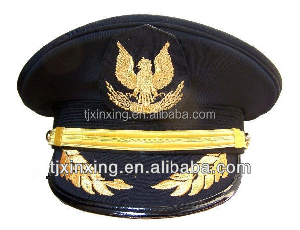 ribbon formal military navy airforce captain hat