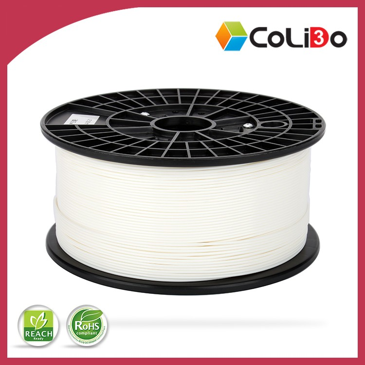 China top ten selling products 3D printer filament, PLA filament,white, for 3d printer, 3d printing