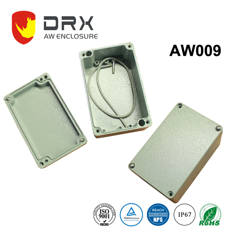 Waterproof Aluminum Junction Box IP67 Enclosure