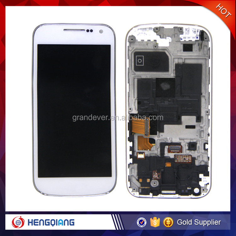 Mobile spare parts lcd replacement for samsung galaxy s4 mini i9190 i9192 i9195 display lcd