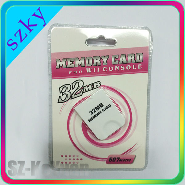 For Wii 32MB Memory Card