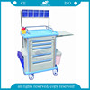 AG-AT001A1 CE ISO hospital funcitonal ABS cheap medical anesthesia trolley