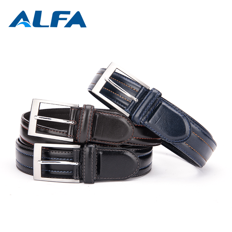 Alfa Super September Purchasing Alibaba China Cheap PU Leather Cowboy Belts For Men