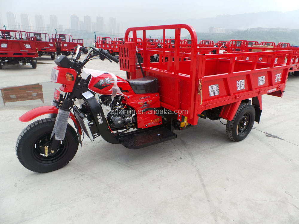 200cc, 250cc Heavy load power cargo motorcycle tricycle truck cargo tricycle