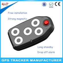 Waterproof Portable GPS Tracker with 60 days standby battery and strong magnet