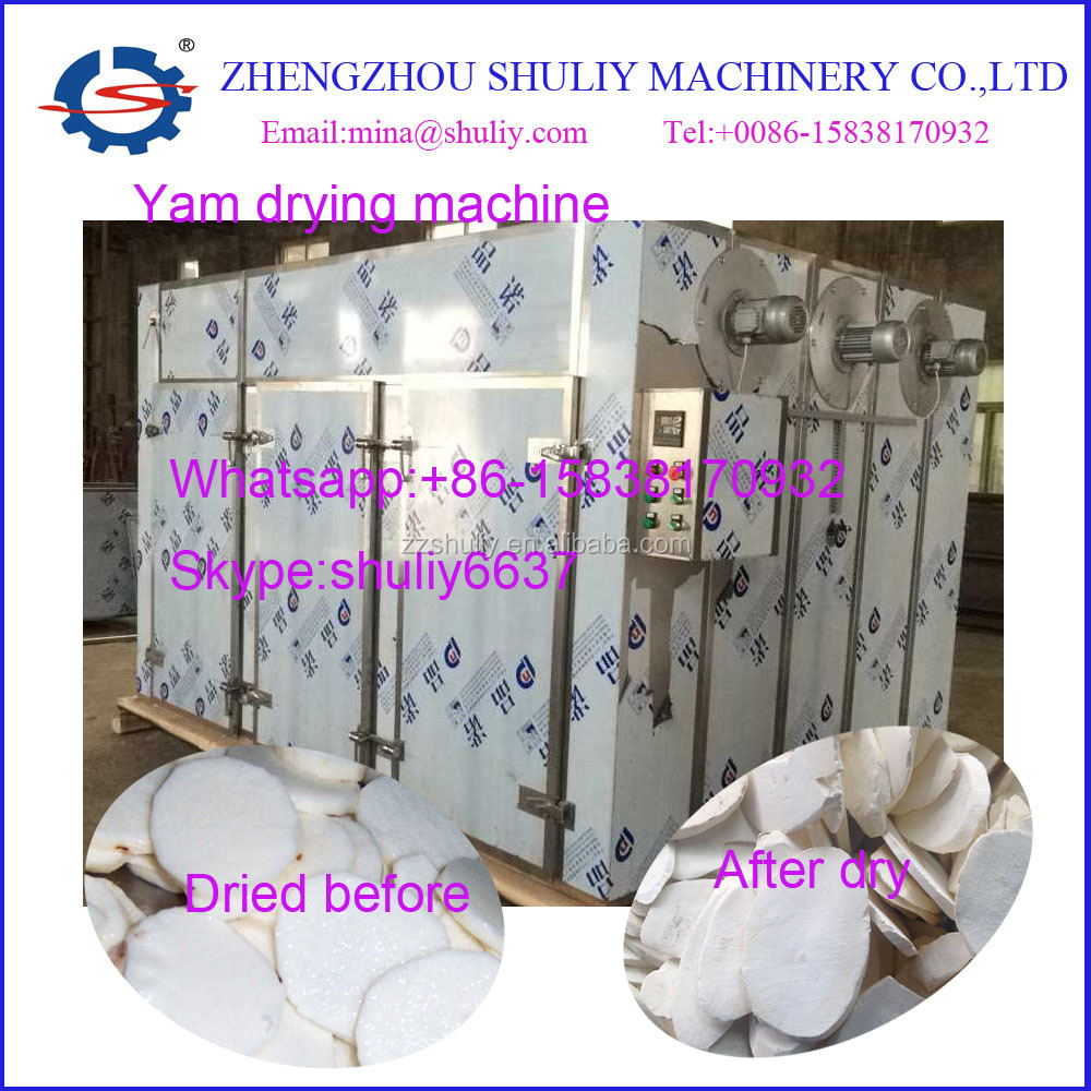 Full stainless steel yam flour process machine