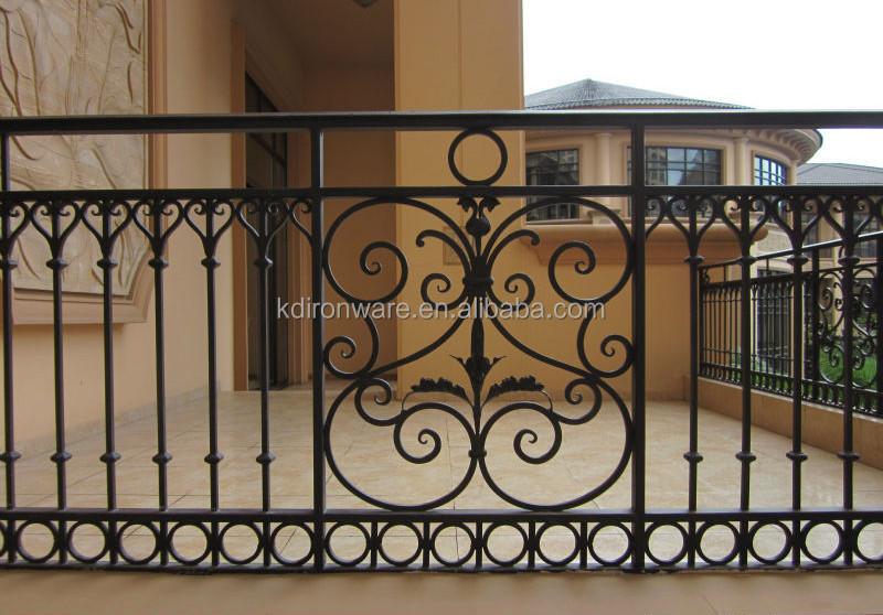 Popular Blustrades & Handrails Type Wrought Iron Railings .