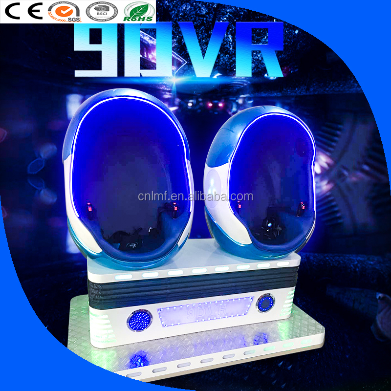 high quality oculus 9d vr cinema /electronic game machine /egg shape virtual reality for mall