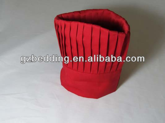 Red Cloth Chef Hat
