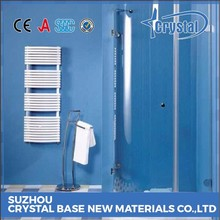 Strict Time Control Supplier Professional Manufacturer Bathroom Tempered Glass Door Material