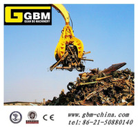Hydraulic Scrap Grab For Excavator
