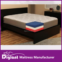 DreamFoam Bedding 12-in-1 Customizable Mattress, King