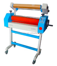EC-650 Self-peeling Electric / Manual Cold Roll Laminator Machine /semi-auto 25inch cold roll laminator