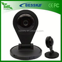 Free Shipping !!! 1/4-inch 1.0 Megapixel newest ip camera surveillance built-in microphone Support Two-way voice intercom