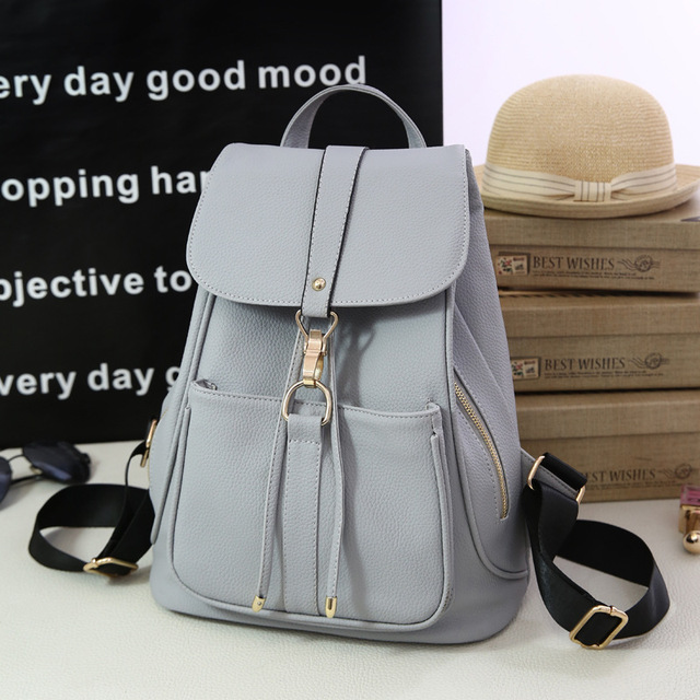 2016 New Stylish Women's Backpack Korean Fashion Female Backpacks College Student Teenagers Rucksack Back Pack School Bags