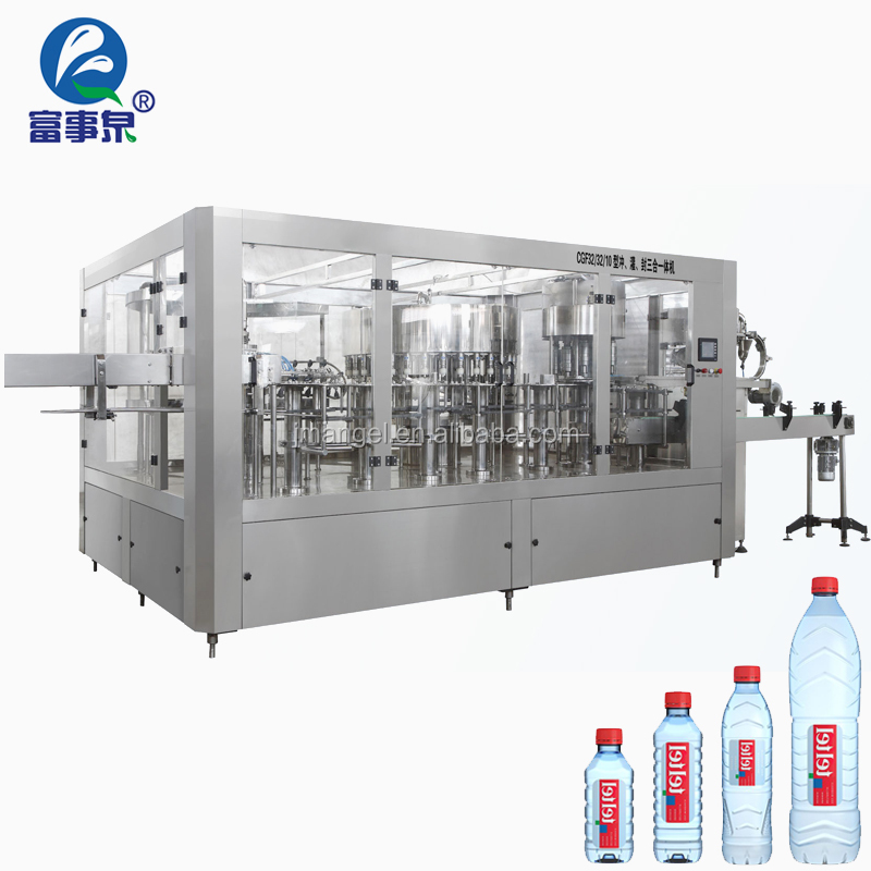 High Quality Factory automatic plc control mineral water drink bottle filling manufacturing plant