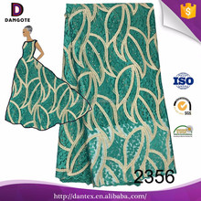 China fabric market wholesale french beaded lace textile 3d embroidery lace in dubai african nigerain 2016 for wedding