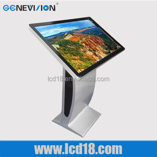 stand alone advertisement digital photo frame samsung lcd kiosk all in one pc touch screen 47