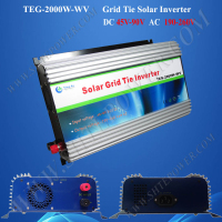 Excellent design solar power system dc 72v to ac 240v 2000w grid tie inverter