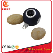 Hidden 360 degree spherical camera,without bluetooth wifi 360 panorama camera