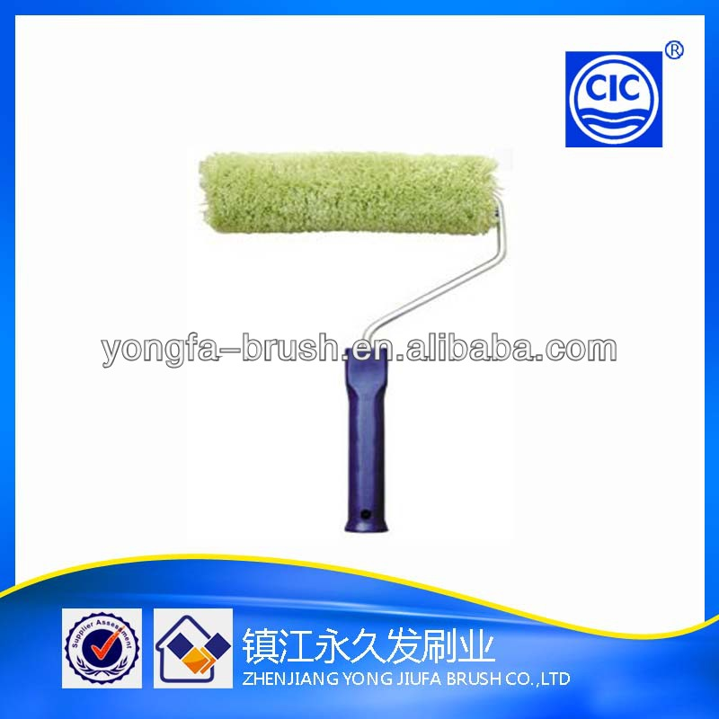 Cheap economic acrylic sleeve plastic handle paint roller