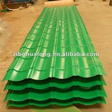 green spanish roof tile for building material