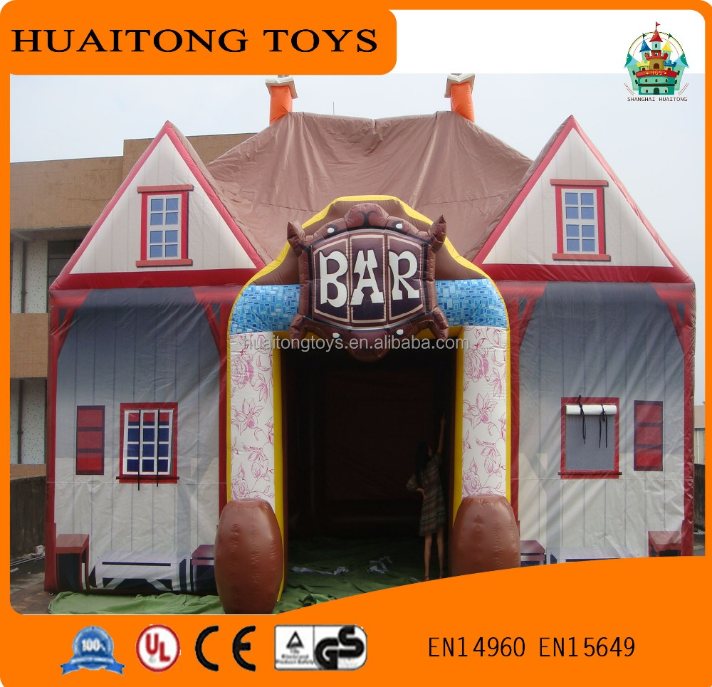 durable customized inflatable pub inflatable bar tent for sale
