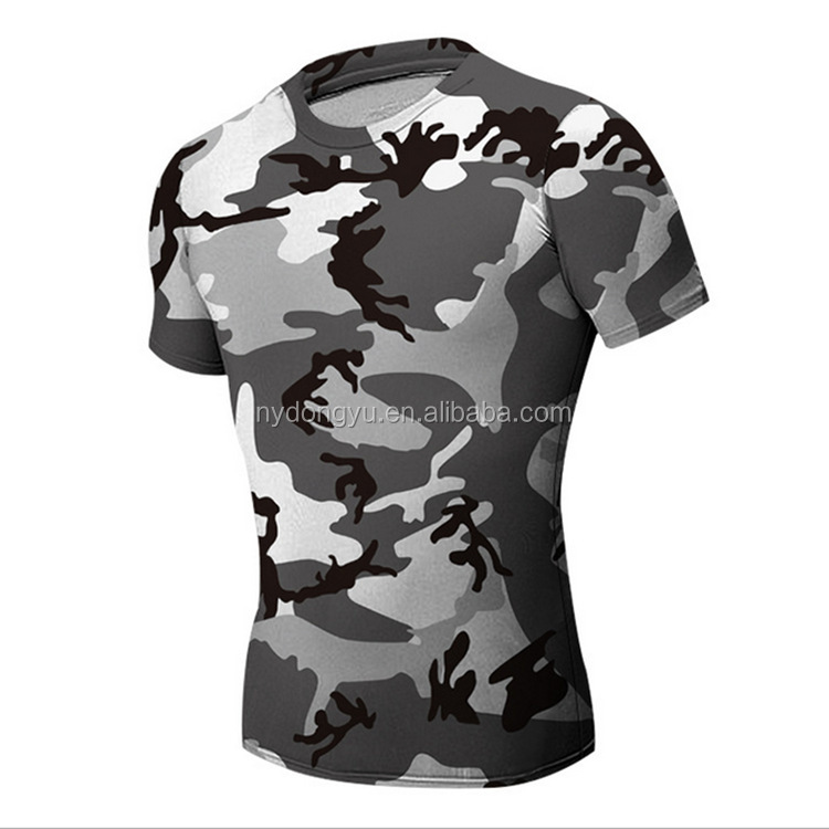 camo blue fast dry tight fit t shirts/yuyd super hero printed short leeve t shirts /hot sell t shirts