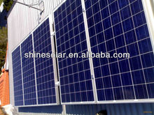 High efficiency solar module panel withblack tedlar SN-P90